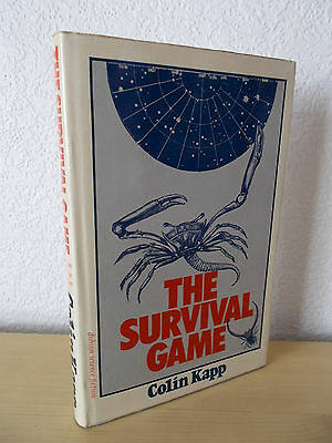 THE SURVIVAL GAME by COLIN KAPP - 1st UK HARDBACK EDITION * ONCE-READ *