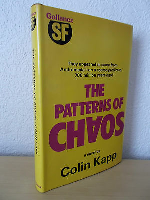 THE PATTERNS OF CHAOS  by COLIN KAPP - 1st UK HARDBACK EDITION * ONCE-READ *