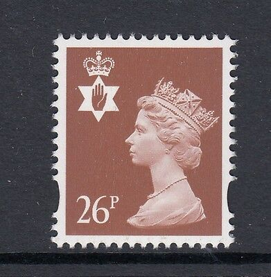 NORTHERN IRELAND 1997  26p  PERF 15x14  BOOKLET STAMP SG NI81  UNMOUNTED MINT