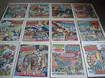 The Eagle-Dan Dare Comic 1986 Job Lot