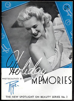 HORACE ROYE:The New Spotlight on Beauty Series No.3-HOLIDAY MEMORIES ca.1942