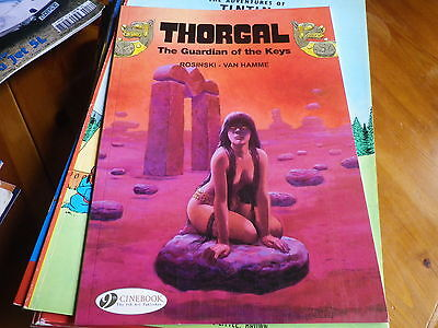 THORGAL THE GARDIAN OF THE KEYS Edition originale ANGLAISE 2010 comme neuf