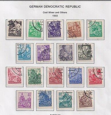 Germany lot of 86 stamps Nice series.