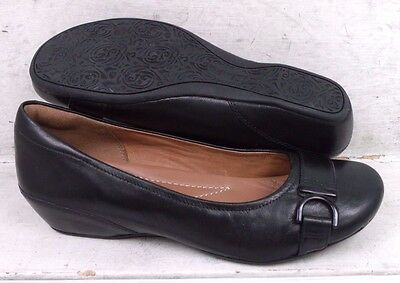 NEW Clarks Artisan Womens Concert Band Black Leather 03517 Shoes size mm 6 M*