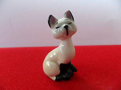 Vintage Wade Whimsies From Walt Disney Lady And The Tramp - Siamese Cat 'am'
