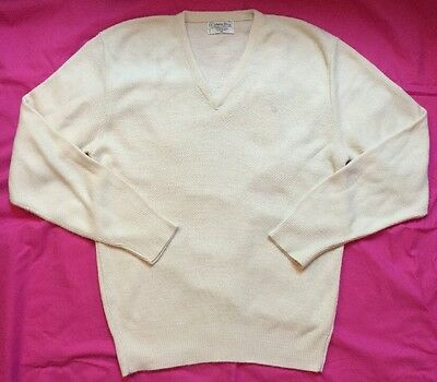 CHRISTIAN DIOR Men's Vintage Sweater  Size XL  100% Orlon Acrylic  Made In USA
