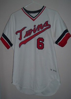 Tony Oliva 1976 Minnesota Twins Home Jersey-Baseball-Letter of Authenticity