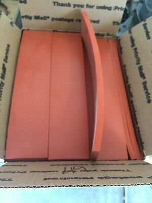 "Silicone Strips 3/8"" Thick 2""1/2"" X 11"" Flat Rate Box Stuff"
