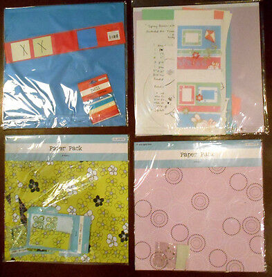 "SCRAPBOOKING 12"" x 12"" PAPER PROJECT PACKS"