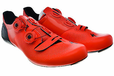 Specialized S-Works 6 Road Bike Clipless Shoes EU 43.5/10.25 US Carbon Sole