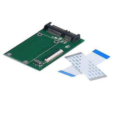 """1.8"""" ZIF CE HDD Hard Disk Drive SSD to 40Pin Serial SATA Male Adapter Konverter"""