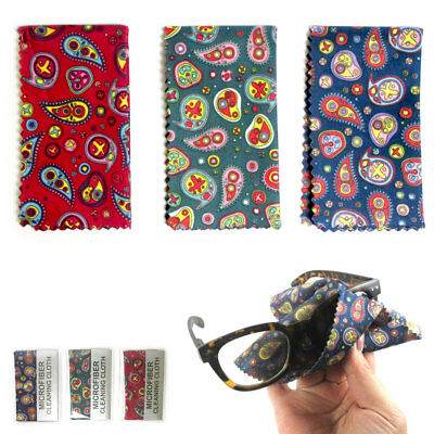 3 Microfiber Cloth Cleaning Glasses Sunglasses Camera Lens LCD Screen Cellphone