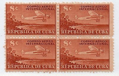 Spanish West Indies - Sc# C40 MNH BK(4) -  Lot 0217178