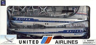 1/144 NEW RAY; UNITED AIRLINES Boeing 377 Stratocruiser