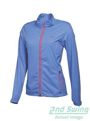 New Womens Puma Golf W Tech Jacket Small S Ultramarine MSRP $90