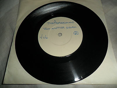 """The Professionals - Just Another Dream 7"""" (Test Pressing) Sex Pistols Ex"""