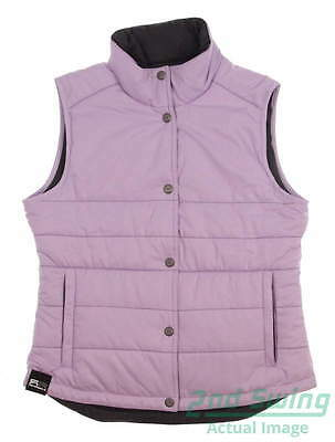 New Womens Sun Mountain Alpine Vest Small S Purple (Lilac / Steel) MSRP $100