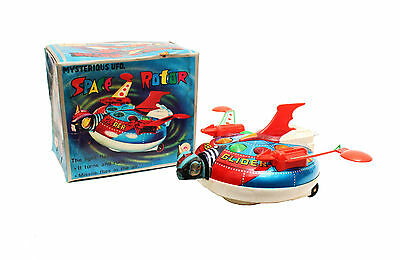 Space Rotor GRENDIZER UFO Tin Toy from the 70´s MIB
