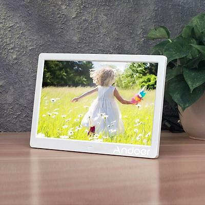 "Andoer 13"" LED Digital Photo Picture Frame MP3 MP4 Movie Player Alarm Clock M2G8"