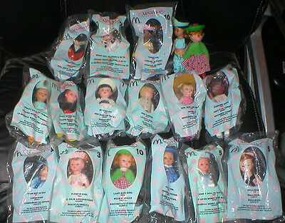 Mcdonalds Madam Alexander Dolls, Lot Of 15,  All New In Package,