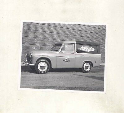 1955 Commer Canada O'Keefes Canadian Breweries Van ORIGINAL Factory Photo wy0472