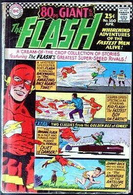 Flash 160 80pg Giant from 1966, GA Flash reprint