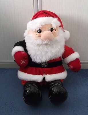 Large Father Christmas Santa soft toy from Tesco