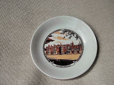 Vintage Collectable Holkham Pottery Pin Dish Sandrinham Transfer Print