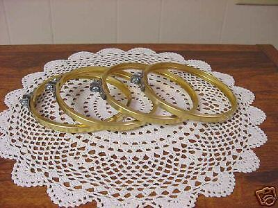 "Brass Coupling Rings 5-3/8"" Set Of (4) New"