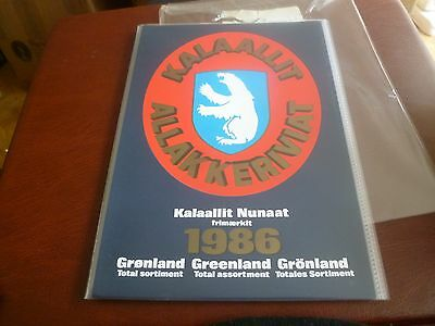 Greenland 1986 Yearbook