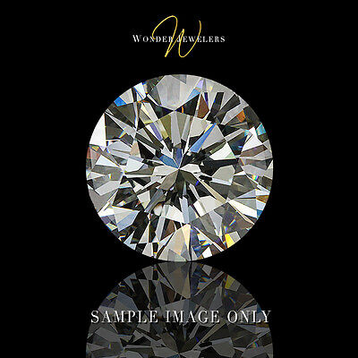 1ct Natural Round Cut Loose Diamond EGL Certified H/SI2 + Free Ring (62314207D)