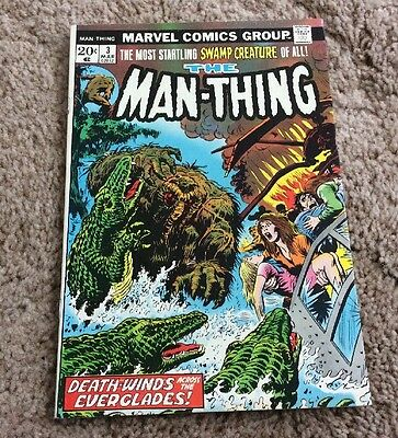 1974 The Man-Thing #3 Marvel Bronze Age Nice LOOK