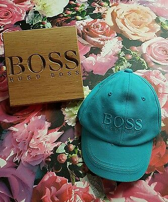 ⛥Genuine⛤ Boys Girls Kids HUGO BOSS Baseball Cap Hat Snap Back AGE 6 7 8