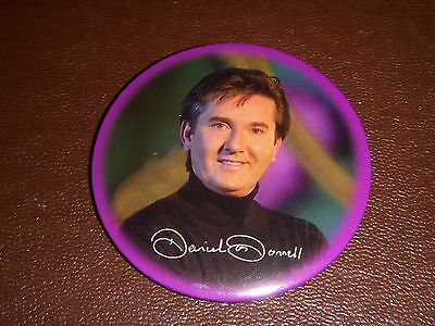 Large Daniel O'donnell Badge ( 3 ) - Irish Singer