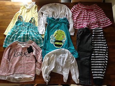 bundle of girls clothes for age 4 to 5 years