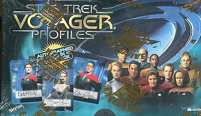 Star Trek VOYAGER PROFILES sealed box