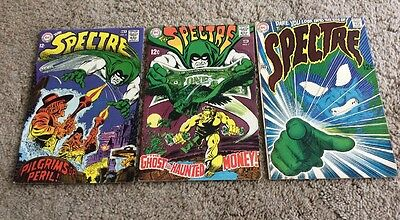 1968 The Spectre Lot (#6, #7, #8) DC Silver Age Nice LOOK