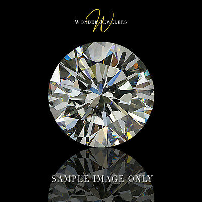 2ct Natural Round Cut Loose Diamond EGL Certified G/VS2 + Free Ring (1503711018)