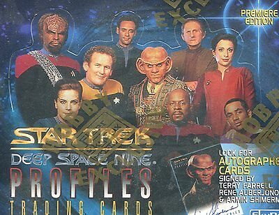 Star Trek DEEP SPACE 9 NINE PROFILES Factory Sealed Box