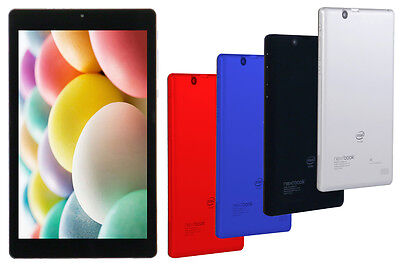 New Nextbook Ares 8A 16GB 1.92GHz QuadCore Intel Android Tablet Bluetooth 2 Cams