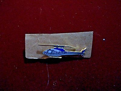 HealthNet Helicopter Lapel Pin