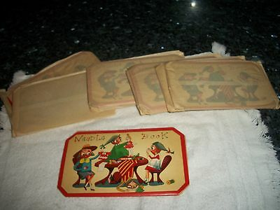 Lot of (9) Vintage Needle Books - Sewing Elves
