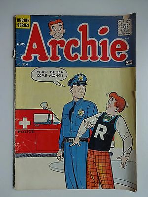Archie #114   Butterfingers   The Interpreter   The Unwelcome   Archie Comics