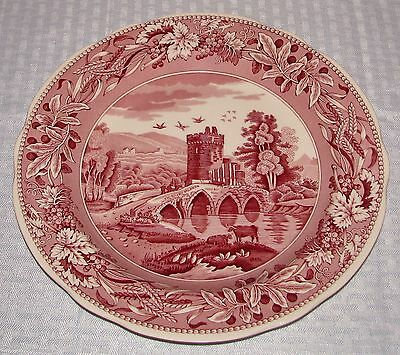 Spode Archive Collect. Tradition Series Cranberry Lucano Dinner Plate EXCELLENT
