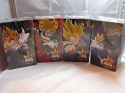 Dragonball Z Power Pack Capsule Corp Set Of 4 Hobby Boxes