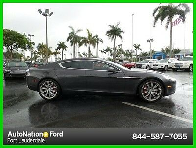 2011 Aston Martin Rapide Luxury 2011 Aston Martin Rapide Luxe Used 6L V12 48V Automatic Rear Wheel Drive Premium