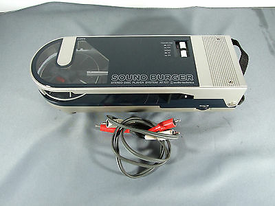 Sound Burger - Audio Technica - At 727 - Turntable - Portable - Record Player