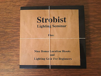 Strobist Lighting Seminar David Hobby Photography Instruction DVD Set FINE