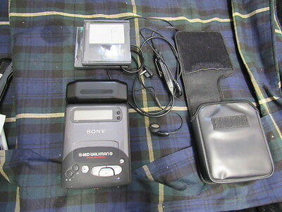 Sony Md Walkman Mz-R2 Portable Mini Disc Player Tested Works Great