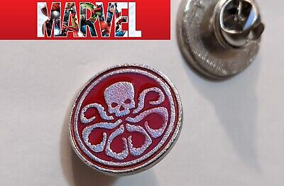 Agents of SHIELD HYDRA logo Metal hat Pin hat pin cap cosplay marvel comics